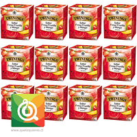 Twinings Infusión Mango y Frutilla Pack 12