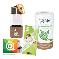 Pack Higher Living Coconut + Sweet Switch Chocolate + Infusor Café