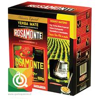 Rosamonte Kit Matero (Yerba Mate, Matero y Bombilla)