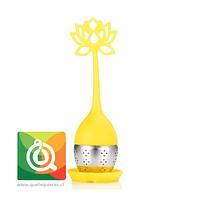 Infusor de Silicona Amarillo -  Flor de Loto