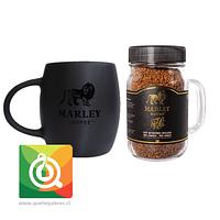 Pack Marley Coffee Tazón Negro + Café Instantáneo Liofilizado