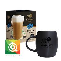 Pack Marley Coffee Tazón Negro + Capuchino Instantáneo Vainilla