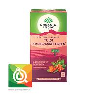 Organic India Té Verde Tulsi y Granada