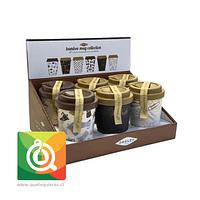 Pack Oroley Mug Bambú 6 unidades