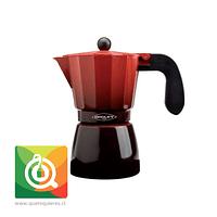 Oroley Cafetera Italiana Induccion Ecofund para 6 y 3 Tazas