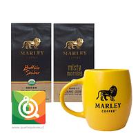 Pack Marley Coffee Tazón Amarillo + Cafés Buffalo soldier - Mystic Morning