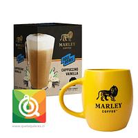 Pack Marley Coffee Tazón Amarillo + Capuchino Instantáneo Vainilla