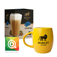 Pack Marley Coffee Tazón Amarillo + Capuchino Instantáneo