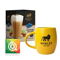 Pack Marley Coffee Tazón Amarillo + Capuchino Instantáneo Avellana
