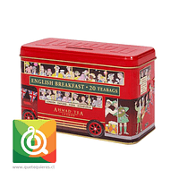 Ahmad Té Negro English Breakfast Alcancía Bus de Londres