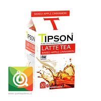 Tipson Té negro Latte Manzana y Canela