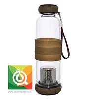 Sling Glass Botella Vidrio con Infusor Metálico - Café 550 ml