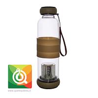 Sling Glass Botella Vidrio con Infusor Metálico - Café