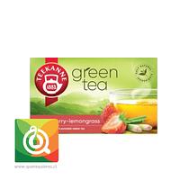 Teekanne Té Verde Frutilla y Lemongrass