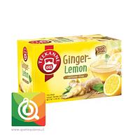 Teekanne Infusión de jengibre y limón