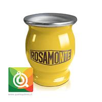 Rosamonte Matero Esmaltado Amarillo
