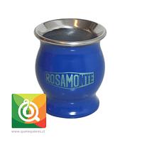 Rosamonte Matero Esmaltado Azul