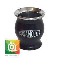 Rosamonte Matero Esmaltado Negro