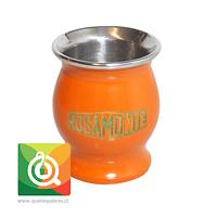 Rosamonte Matero Esmaltado Naranjo
