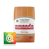 Amanda Yerba Mate Naranja