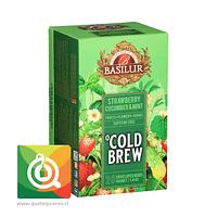 Basilur Cold Brew Fresa, Pepino y Menta