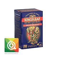 KingsLeaf Té Negro English Breakfast 25 bolsitas