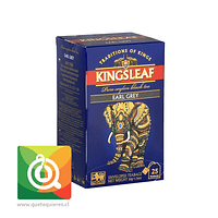 KingsLeaf Té Negro Earl Grey 25 bolsitas