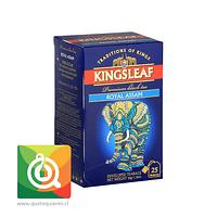 KingsLeaf Té Negro Royal Assam 25 bolsitas