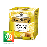 Twinings Infusion Limon Y Jengibre 10 x 2 gr