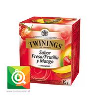 Twinings Infusion Frutilla / Mango 10 x 2 gr