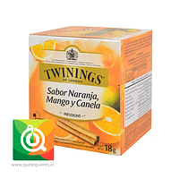 Twinings Infusion Naranja / Mango / Canela 10 x 2