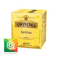 Twinings Té Negro Earl Grey 10 x 2 gr