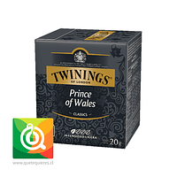 Twinings Té Negro Prince Of Wales 10 x 2 gr