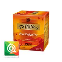 Twinings Té Negro Ceylan Pure 10 x 2 gr