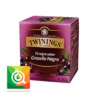 Twinings Té Negro Blackcurrant 10 x 2 gr