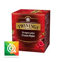 Twinings Té Negro 4 Frutos Rojos 10 x 2 gr