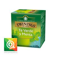 Twinings Te Verde Con Menta 10 x 2 gr