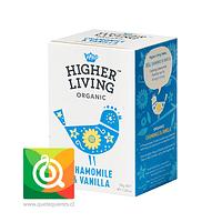 Higher Living Infusión Manzanilla y Vainilla Orgánica - Chamomile & Vanilla