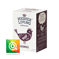 Higher Living Infusión Regaliz Orgánica - Licorice
