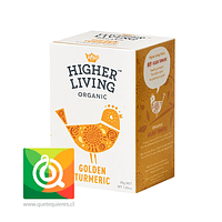 Higher Living Infusión Curcuma Dorada Orgánica - Golden Turmeric