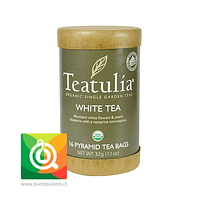 Teatulia Té Blanco Orgánico