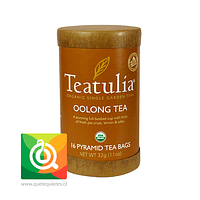 Teatulia Té Oolong Orgánico