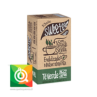 Sweetea Té Verde Stevia 20 bolsitas