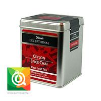 Dilmah Té Ceylon Spice Chai Lata 100 gr