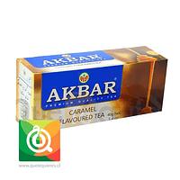Akbar Té Negro Caramelo