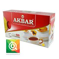 Akbar Té Negro Ceylán 100 bolsitas