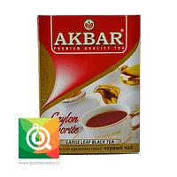 Akbar Té Negro Ceylán en Hoja