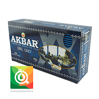 Akbar Té Earl Grey 100 bolsitas