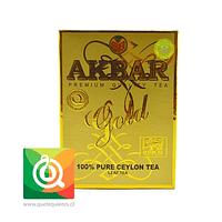 Akbar Té Negro Gold en Hoja