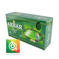 Akbar Té Verde 100 bolsitas